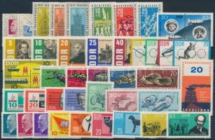 1963 16 db klf kiadás, benne teljes sorok, összefüggések