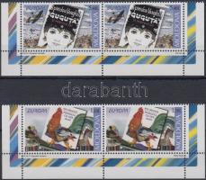 2010 Europa CEPT : Gyermek könyvek sor ívsarki párokban Mi 703-704+bélyegfüzet MH 15