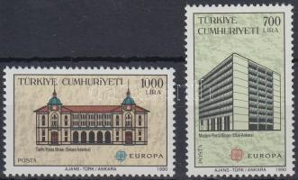 Europa CEPT, Postal institutions set, Europa CEPT, Postai intézmények sor