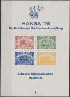 HANSA memorial sheet, HANSA emlékív