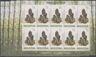 2010 Gombák kisív sor Mi 694-697