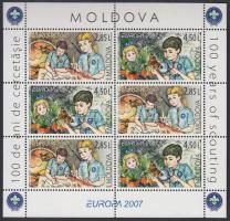 Europa CEPT: Scout stamp-booklet, Europa CEPT: Cserkészet bélyegfüzet