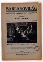 1936 Barlangvilág. Népszerű Barlangtani Folyóirat. Szerkeszti:Kadic Oszkár. VI. kötet, 1-2. füzet. Kissé Viseltes kiadói papír kötésben.