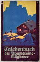 Taschenbuch der Alpenvereins Mitglieder. Wien, 1936. Nagyon sok adattal és hirdetéssel. Karton kötésben. / With many datas, in paper binding