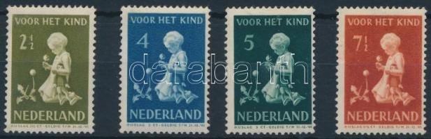 Gyermekvédelem sor első érték nélkül Child protection set without opening stamp