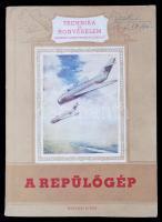 V. A. Popov: A repülőgép. Bp., 1956, Katonai. Kiadói papírkötésben.