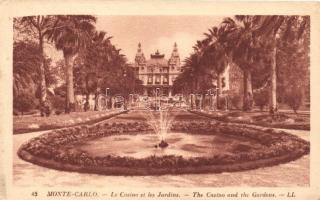 Monte Carlo, Le Casino et les Jardin / The Casino and the Gardens
