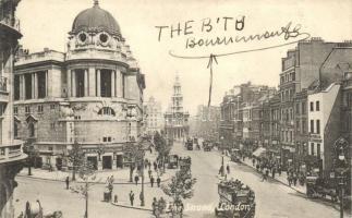 London, The Strand, autobus