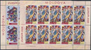 2006 Europa CEPT: Integráció kisív sor Mi: 549-550 + bélyegfüzet MH 10