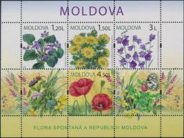 2009 Virág blokk Mi: 47