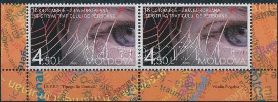2009 Europai nap ívsarki pár Mi: 677