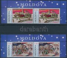 2009 Karácsony sor ívsarki párokban Mi 682-683