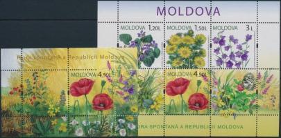 2009 Virágok 2 blokk Mi: 46-47