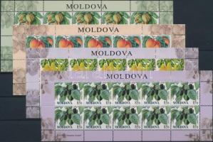 2009 Gyümölcsök kisív sor Mi: 669-672