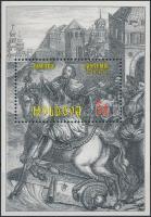 2001 Moldvai fejedelem blokk Mi: 25