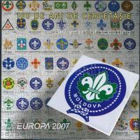 2007 Europa CEPT: Cserkészet bélyegfüzet MH 11 (Mi 582-583)