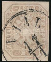 """Newspaper stamp """"VAÁL""""  (paper remainders), Hírlapbélyeg """"VAÁL""""  (papírmaradványok)"""