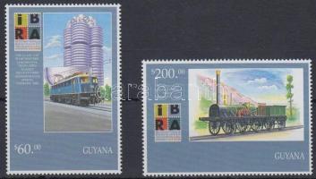 International Stamp Exhibition set, Nemzetközi Bélyeg-kiállítás sor