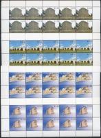 2007 Építészet kisív sor Mi: 86-89