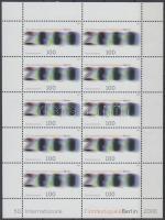 2000 Nemzetközi Filmfesztivál Berlin, kisív Mi 2102