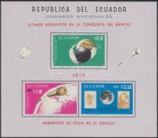 1966 Olasz űrkutatási sikerek blokk Mi 31