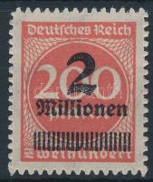 1923 Mi 309 BPb Signed: Winkler