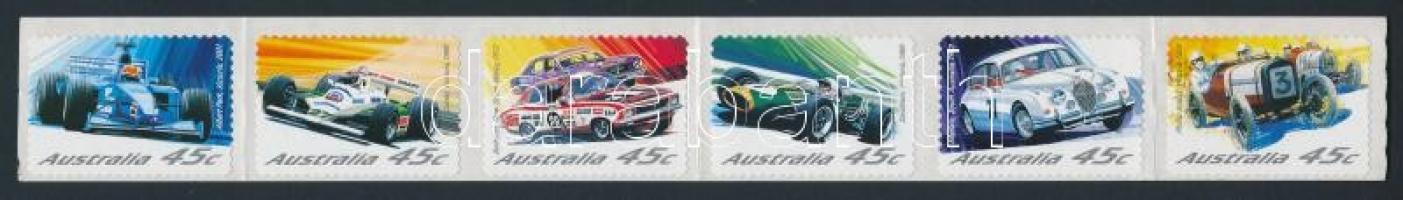 Motor Sport self-adhesive set on foil, Autósport öntapadós sor fólián