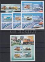 2005 Mozdony sor Mi 1430-1433 A + blokksor 129-133 A