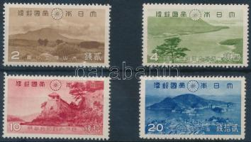 1939 Nemzeti park sor Mi 276-279