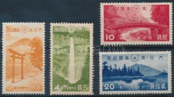 1938 Nemzeti park sor Mi 272-275 (10S postatiszta / mint never hinged)