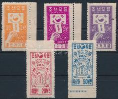 1948 Dél-Koreai választások sor Mi 29-33
