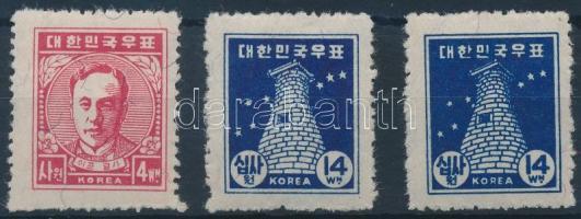 1948/1949 Definitive set, 1948/1949 Forgalmi sor