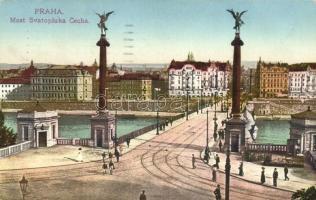Praha, Prag; Most Svatopluka Cecha / bridge (EB)
