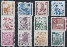 1963 Szimbólumok sor Mi 381-392 (Mi EUR 360.-)