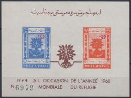 1960 Nemzetközi- Menekültügy blokk Mi 5