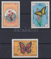 1983 Pillangó sor Mi 1295-1297