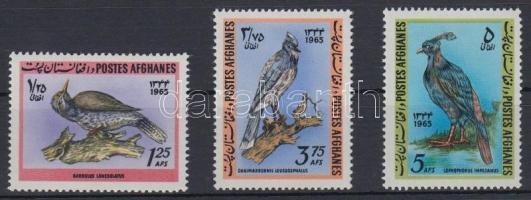1965 Madár sor Mi 939-941