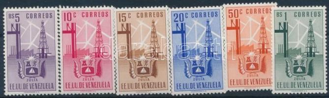1951 Címerek 6 érték Mi 694-699 (Mi 700 hiányzik)