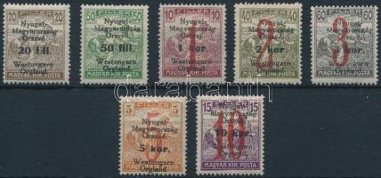 Nyugat-Magyarország VI. 1921 Sor Bodor vizsgálójellel (5.700)