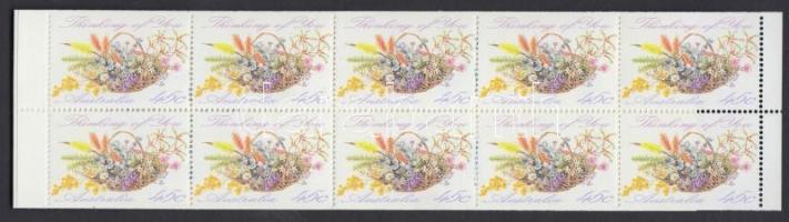 Greeting Stamp stamp-booklet, Üdvözlőbélyeg bélyegfüzet