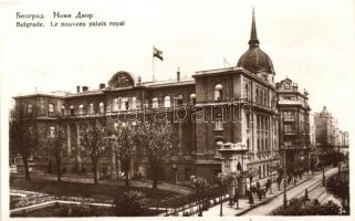 Belgrade, Le nouveau palais royal / The new Royal Palace