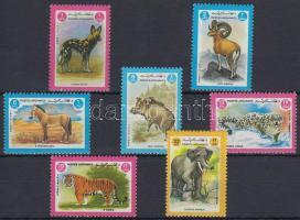 1984 Állatok sor Mi 1342-1348