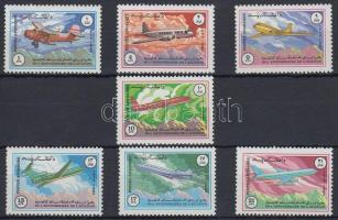 1984 Nemzetközi Polgári Repülési Szervezet sor Mi 1353-1359