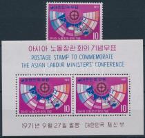 Asian Labor Conference + block, Ázsiai Munkaügyi- Konferencia + blokk
