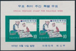 Stamp Collecting Week block, Bélyeggyűjtés hete blokk
