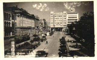 Belgrade; Kraljev trgzi Berza / Kings Square and the Stock Exchange, 'Philips Radio' building