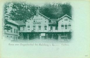 Augustbad bei Radeberg, Curhaus / spa