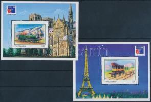 International Stamp Exhibition PHILEXFRANCE'99, Paris block set, Nemzetközi Bélyegkiállítás PHILEXFRANCE '99, Párizs blokksor