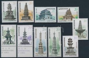 Pagoda (I-V) 5 diff sets, Pagoda motívum (I-V.) 5 klf sor