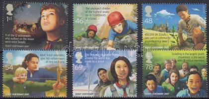 2007 Cserkész sor Mi 2552-2557